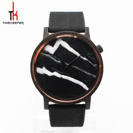 Men'S Fashion Wrist Watch Winner Japan Movement Watch With Leather Strap