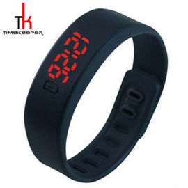 Candy Color Digital Led Sports Watch Silicone Bracelet Watch Waterproof