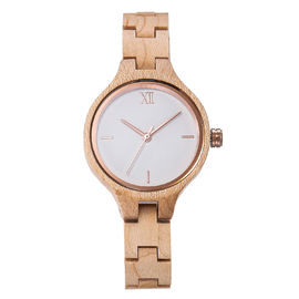 Simple wooden wrist watch,maple wood watch,ladies watch. good gifts for women.