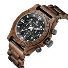 Wood Belt Multifunction Wrist ,wood watches for men ,3 ATM water proof .